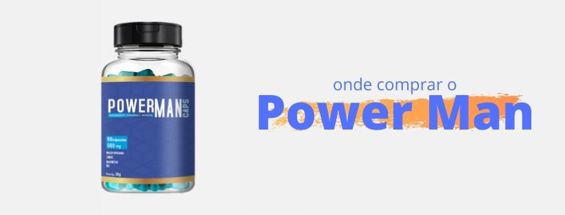 Onde comprar o Power Man Caps